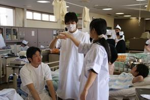 『看護学生の一日[演習]』の画像